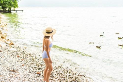 petite fashion blog, lace and locks, italy travel blogger, lake garda, cute tulle skirt for women, travel review blog, villa feltrinelli, italy destination blog