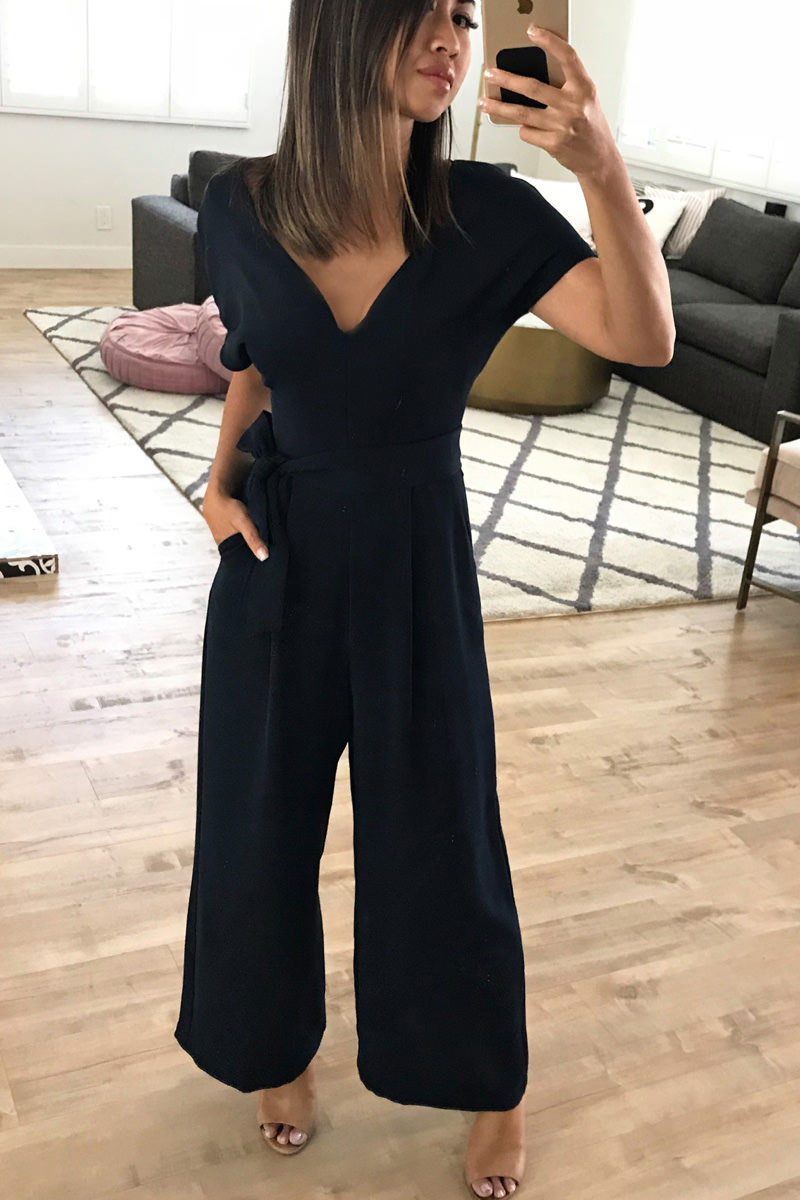 Nordstrom Anniversary Sale Belted Jumpsuit