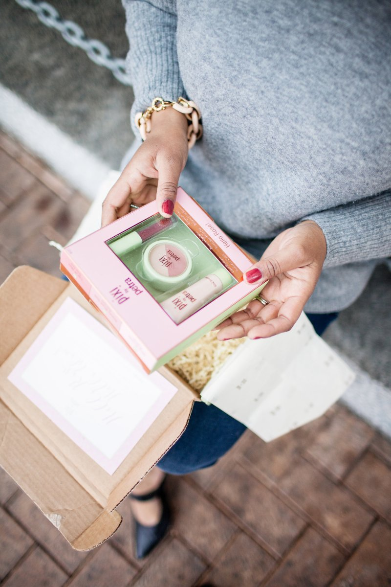 Pixi Beauty is an affordable, all-natural beauty brand. Not only are the products a great buy, but the signature packaging is hard to resist.