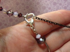 Use CONNECT to attach the clasp to both loose ends of the necklace.