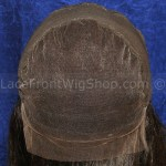 Full Lace Cap with Silk Top and Ear to Ear Stretch