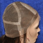 Full Lace Cap with Silk Top and No Stretch