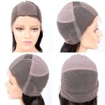 Full Lace Cap with Silk Top and crown Stretch