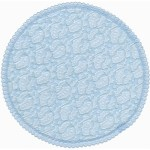 Light blue Lace Doily 10 1/4