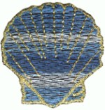 1 1/2'' - Nautical Shell Applique - 3 Colors1 1/2'' - Nautical Shell Applique - 3 Colors