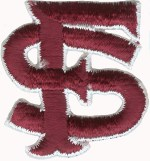 2'' by 2'' San Francisco Applique2'' by 2'' San Francisco Applique