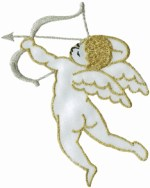 2 1/2'' by 3 3/4'' Cherub Applique2 1/2'' by 3 3/4'' Cherub Applique