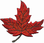 2 1/8'' by 2 1/8'' Leaf Applique2 1/8'' by 2 1/8'' Leaf Applique