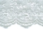 1 1/2'' White Netting Lace1 1/2'' White Netting Lace
