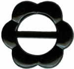 2 3/4'' Black Flower Slide2 3/4'' Black Flower Slide