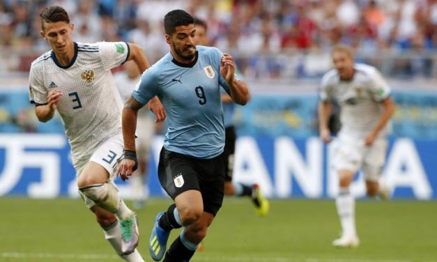 Uno x uno Uruguay-Rusia