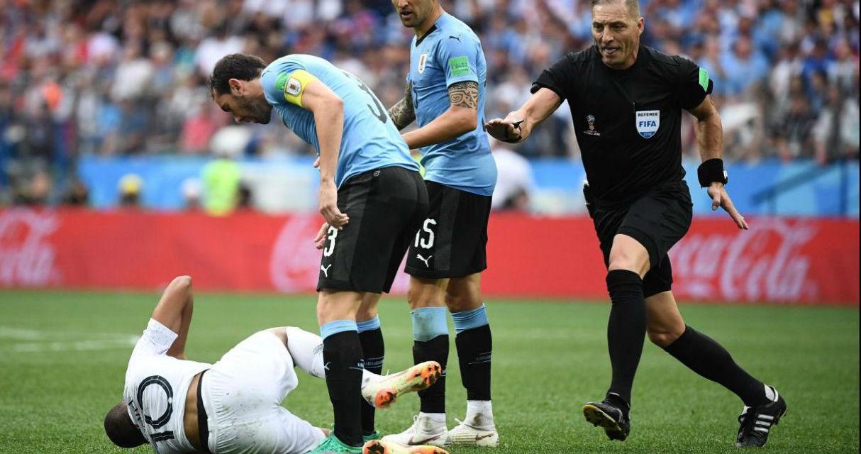 Uno x uno Uruguay-Francia