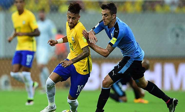 Uno x uno Uruguay-Brasil