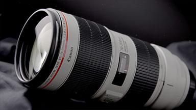 Optica Canon. Video de producto.