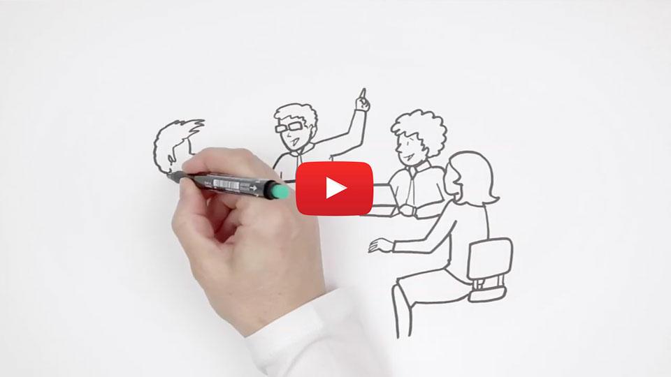 Vídeo scribing o whiteboard animation. ¿Qué es y cómo surgió?