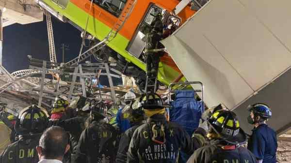 Más de 20 muertos y decenas de heridos dejó accidente en el metro de la CDMX