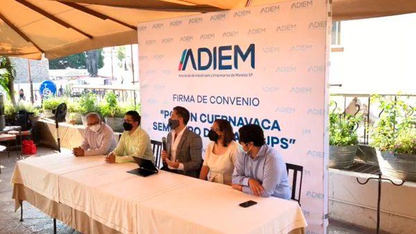 ADIEM alentó a los candidatos políticos a participar en el semillero de startup en Cuernavaca
