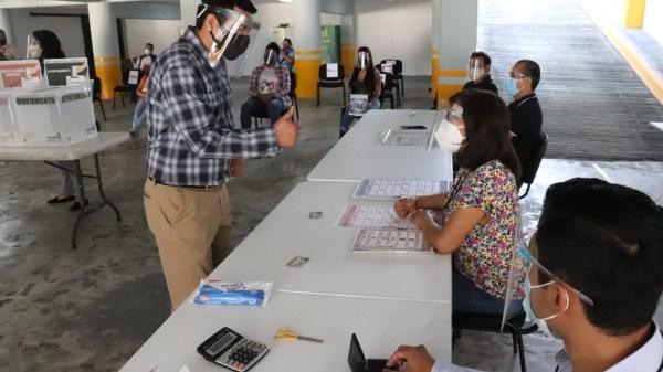 INE Morelos anunció las medidas sanitarias a implementar durante las elecciones del 6 de junio