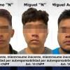 Tres sujetos fueron capturados por extorsionar a un comerciante en Cuautla