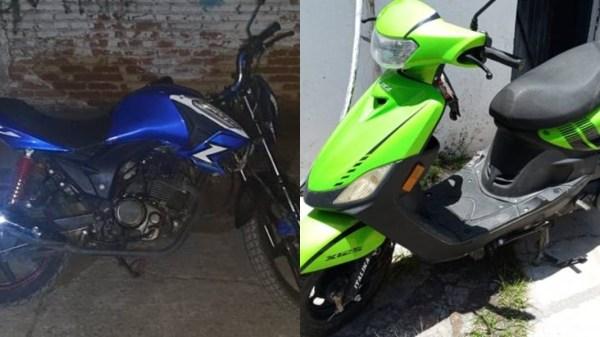 Dos motocicletas con reporte de robo en Jojutla y Jiutepec fueron aseguradas por el Mando Coordinado Policía de Morelos