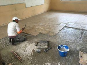 Escuelas públicas de Jiutepec reciben mantenimiento de cara al inicio del ciclo escolar 2021-2022