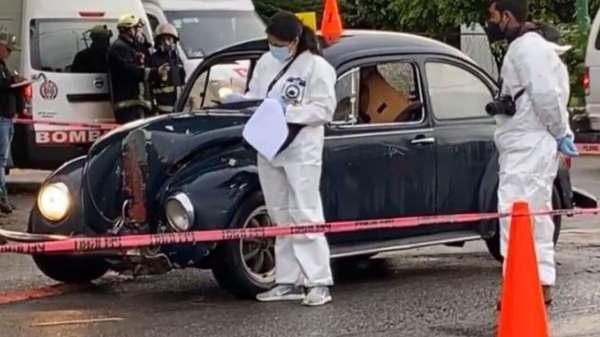 Muere mujer en choque avenida Centenario de CIVAC de Jiutepec