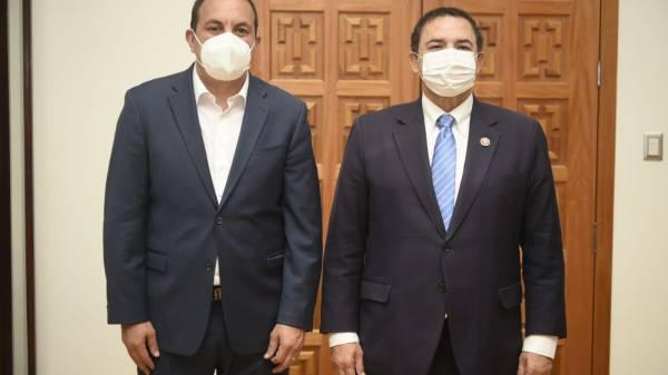 Se reúne Cuauhtémoc Blanco con Congresista de Texas para desarrollar proyectos a futuro entre Morelos y EEUU