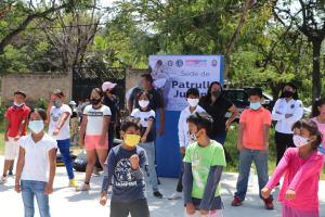 Clases de defensa personal y primeros auxilios son impartidas para niños y jóvenes del municipio de Emiliano Zapata
