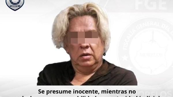 """Detienen a """"La Paloma"""" por homicidio en centro de rehabilitación contra las adicciones en Temixco"""