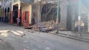 Terremoto de magnitud 7,2 sacude Haití. Reportan al menos 29 personas fallecidas