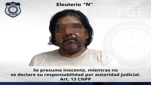 """Vinculado a proceso """"El Tello"""" de 60 años de edad, por violación de una menor de 12 años en noreste de Morelos"""