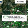 Sismo de magnitud 3.4 registrado en el municipio de Emiliano Zapata no dejó afectaciones