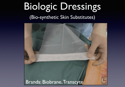 The Biologic Dressings