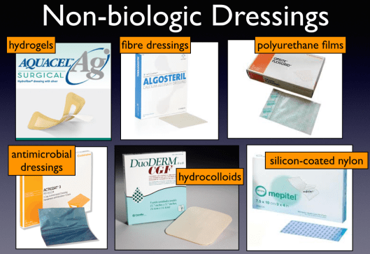The Non-Biologic Dressings
