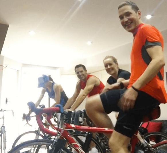 100 KM trainer ride