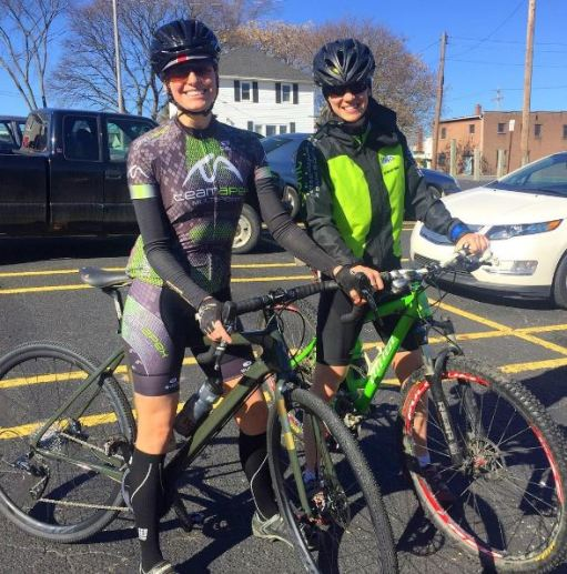 We rode the Barry Roubaix course and it was absolutely glorious to do some riding outdoors.