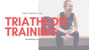 First Official Month of Triathlon Training in 2019