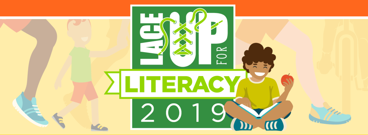 lace up for literacy