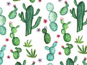 Floral watercolor photo backdrop