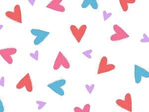 Hearts valentines day photo backdrop