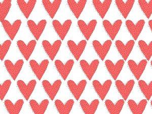Strawberry Hearts valentines day smash photography backdrop