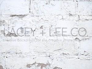 Peeling white paint wood floor photo backdrop
