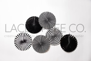 Black and White Pinwheel Cake smash photo backdrop