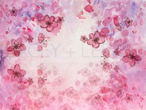 Watercolor Backdrops for Newborn Photography