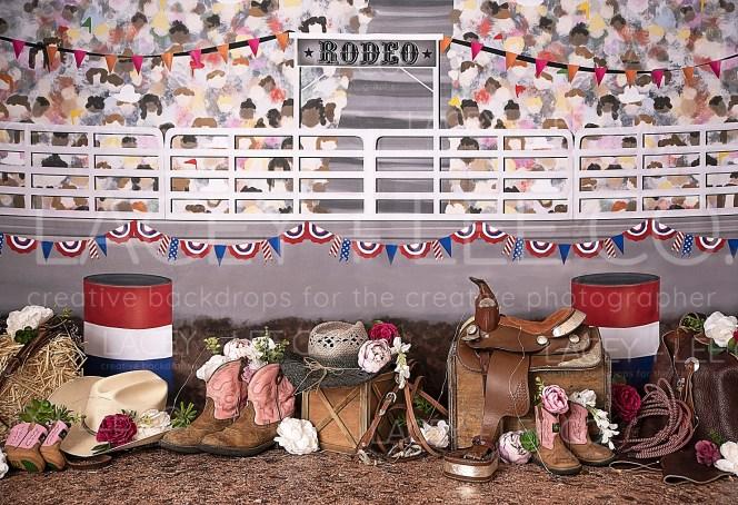 Rodeo Queen Backdrop