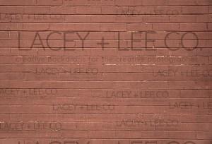 Clay wash brick backdrop