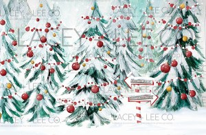 North Pole Photo Backdrop