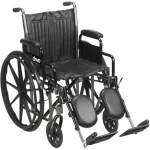 Wheelchairs are great to help our customers who wish to be more mobile. This wheelchair is lightweight and easy to transport.