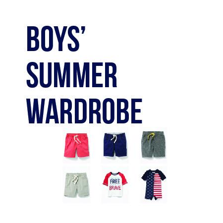 Boys' Summer Wardrobe