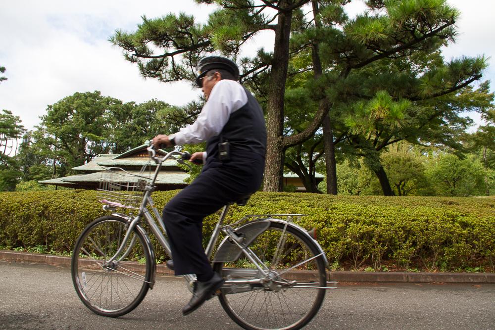 policier vélo Tokyo